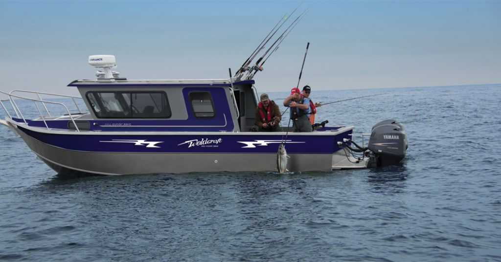 Snake river boat builders welded aluminum boats for Offshore fishing boat manufacturers
